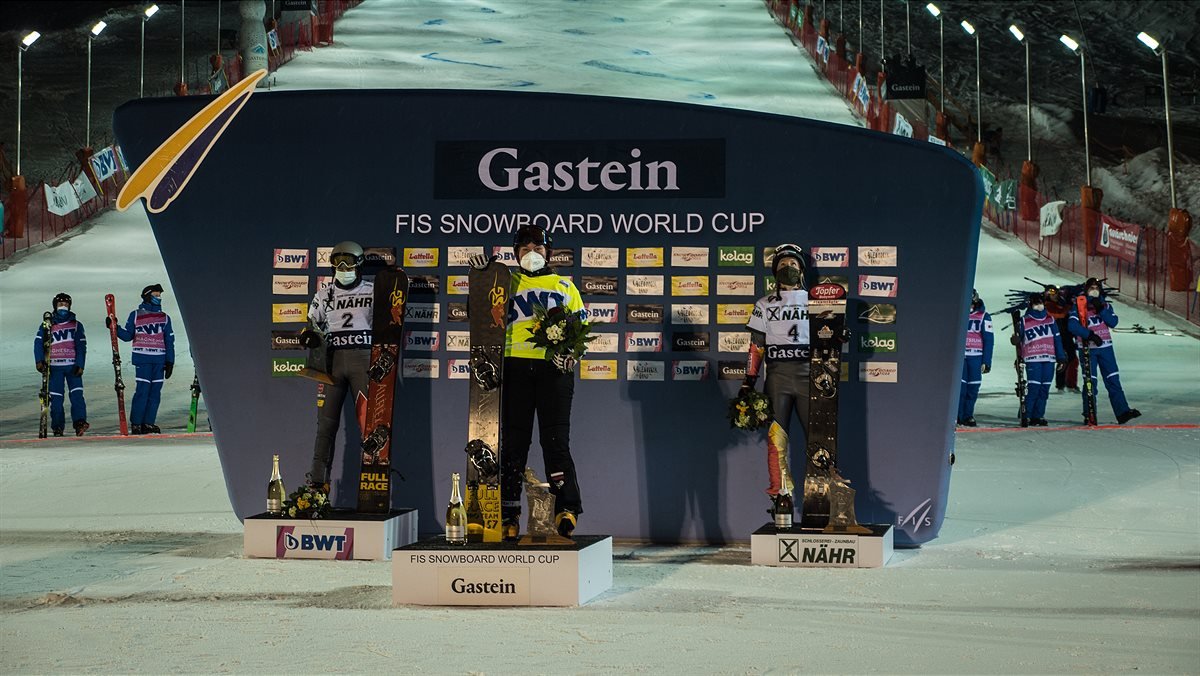 Snowboard Weltcup in Bad Gastein